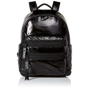 Nine West Tallis Backpack Shiny Black Stand Out